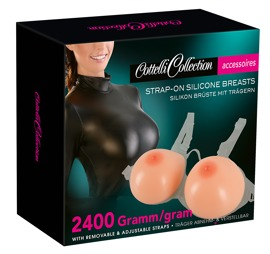 24607505001 verp - Silicone Breasts with Straps