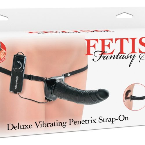 05406680000 verp 500x500 - Deluxe Vibrating Penetrix Strap-on