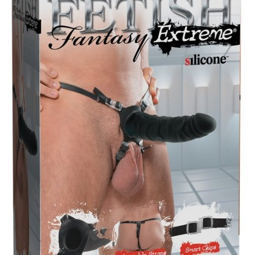 """05437720000 verp 500x500 - 7"""" Silicone Hollow Strap-on"""