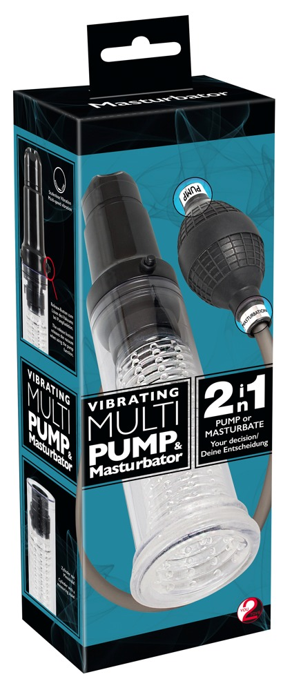 05896750000 verp - Vibrating Multi Pump & Masturbator