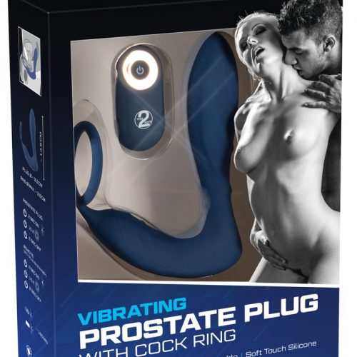05948810000 verp 500x500 - Vibrating Prostate Plug with Cock Ring