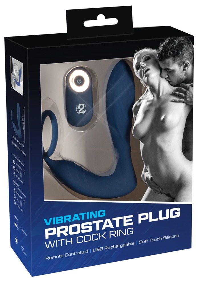 05948810000 verp - Vibrating Prostate Plug with Cock Ring