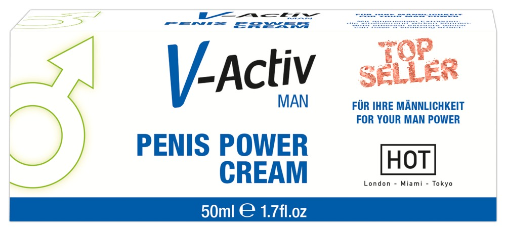 06114760000 verp - V-Activ Penis Power Cream 50 ml
