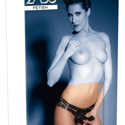 20003341111 verp 500x500 - Leather String with 3 Dildos