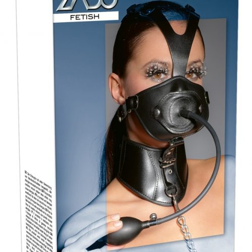 20201221001 verp 500x500 - Leather Head Mask and Gag