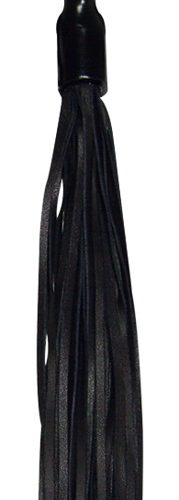 20401741001 nor a 179x500 - Leather Flogger with Wooden Handle