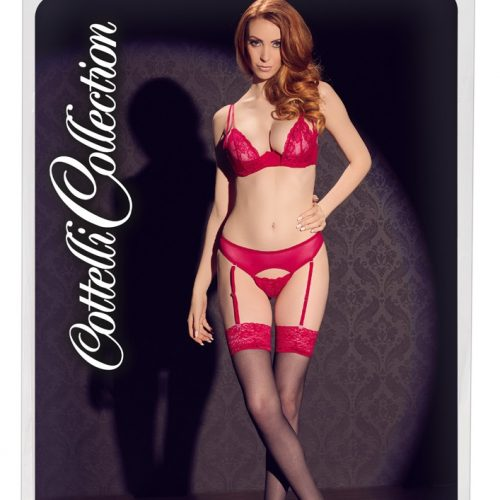 25403551611 verp 500x500 - Stockings with Red Lace